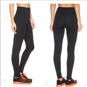 SPANX Textured Panel High Rise Leggings Black
